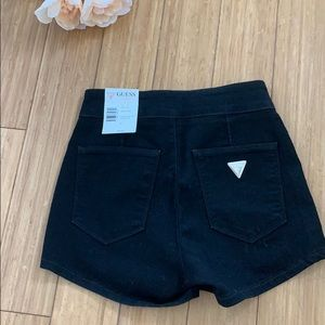 Guess Shorts - NWT black high waisted booty shorts from Guess